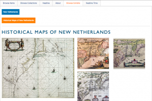 New Netherlands exhibit on Stories of the Susquehanna Omeka website.